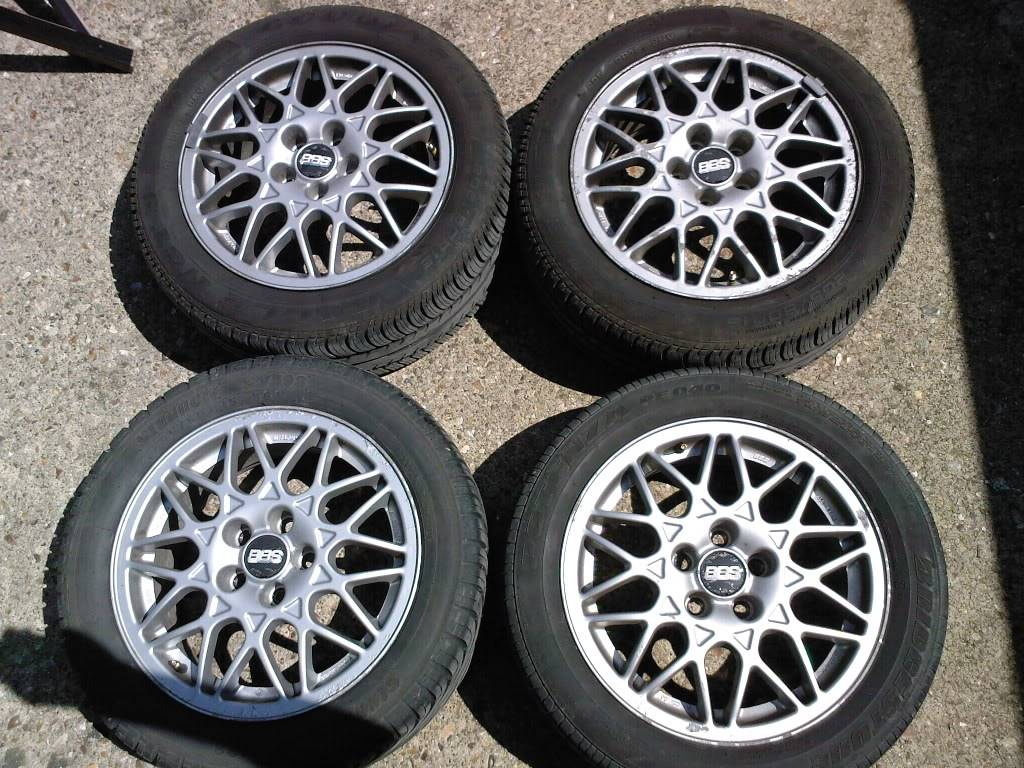 BBS ALLOY WHEELS AND NEW TYRES £100 ono SPM_A0059