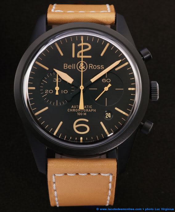 [Revue] Bell & Ross 123 vintage black officer 30317