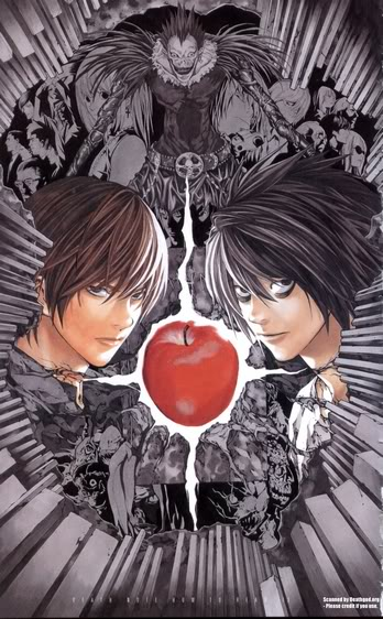 [Manga/Animé] Death Note (seinen) DN