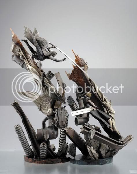 Statues & répliques (résines/polystone) Kotobukiya20Final20Fantasy20VII2-5