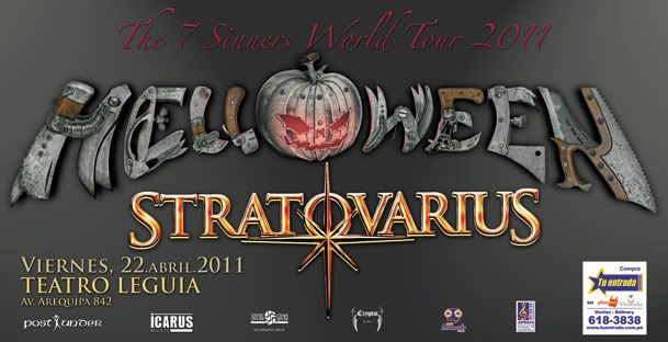 Stratovarius en Lima, Sab 23 Helloweenbajacopy