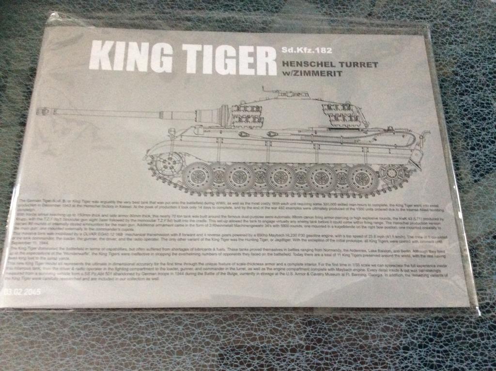 King Tiger torre Henschel con zimmerit del Pz. Abt. 505. Takom. 1:35 IMG_5354_zpsbdp9gqrk