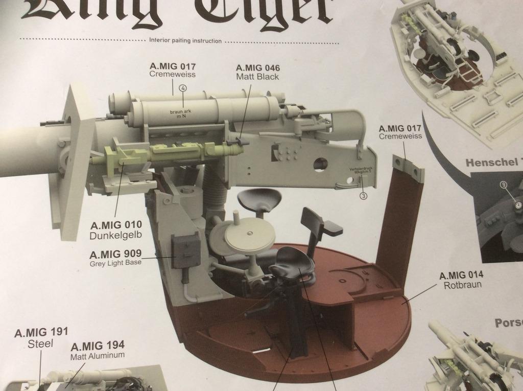 King Tiger torre Henschel con zimmerit del Pz. Abt. 505. Takom. 1:35 IMG_5746_zpsvm9f50ln