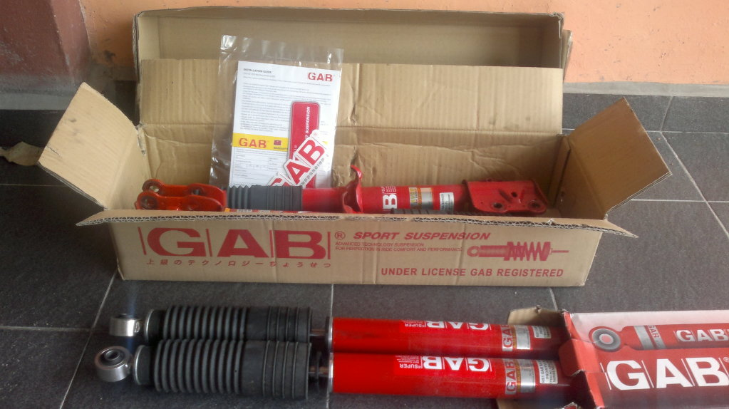 Myvi GAB Sport Absorber (SA Series) 17082011117