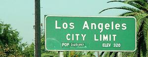 Entrada a Los Ángeles