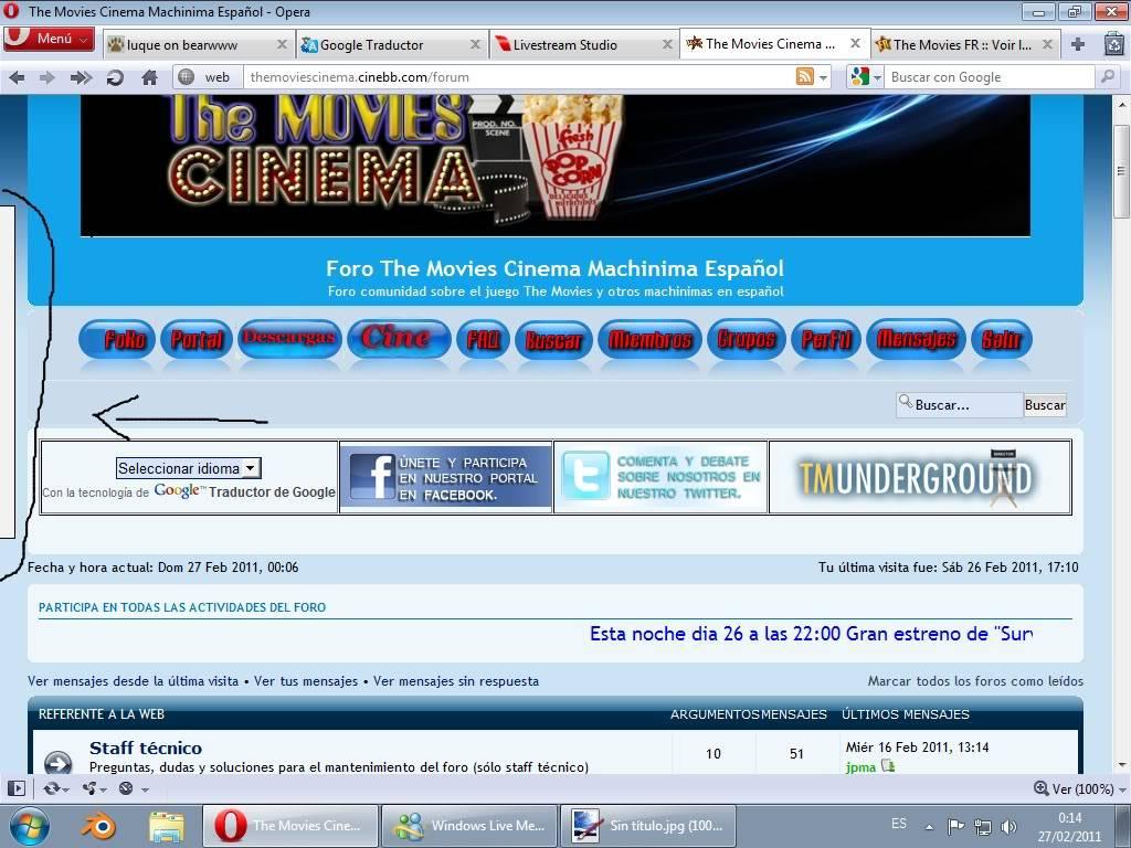 Otros foros the movies Sinttulo1