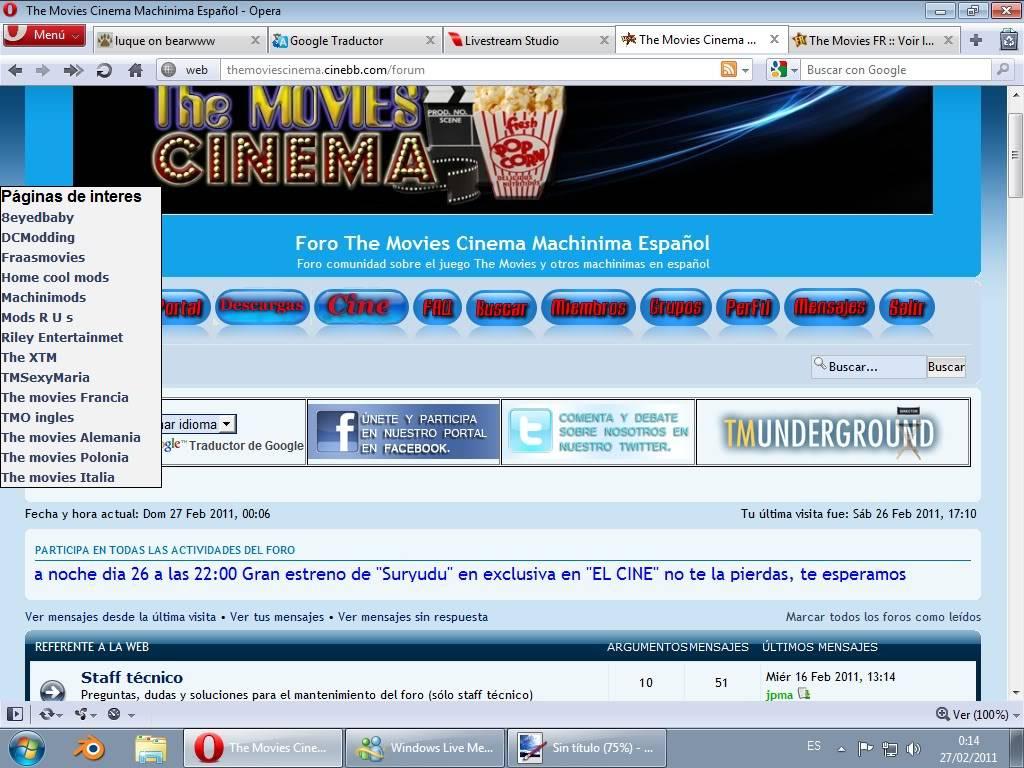 Otros foros the movies Sinttulo2