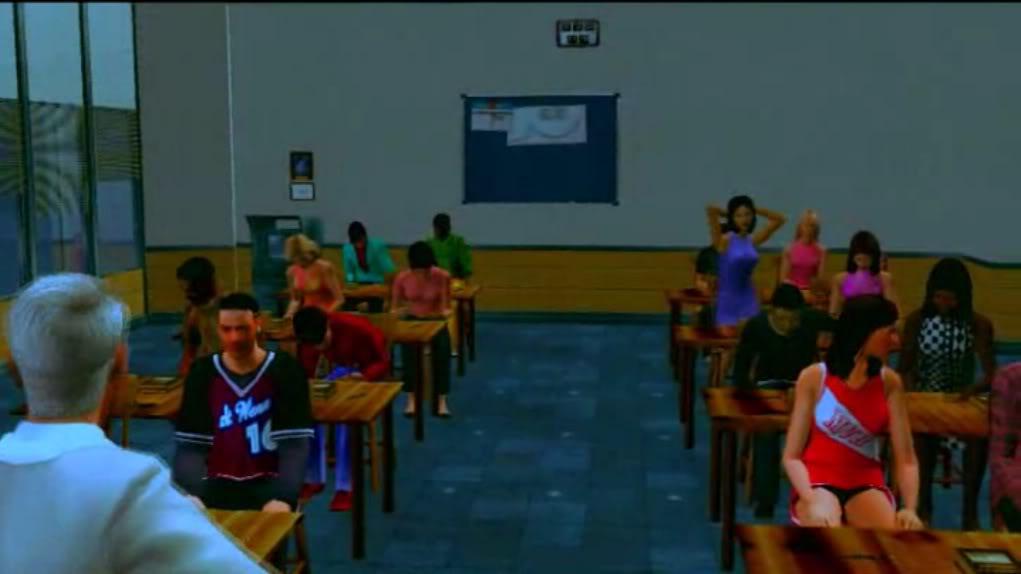 aula escolar (prop) y taller de modding Aula