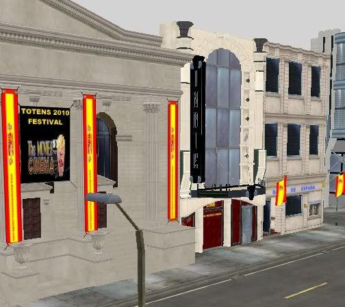 Set de calle comercial  Comercialespaa