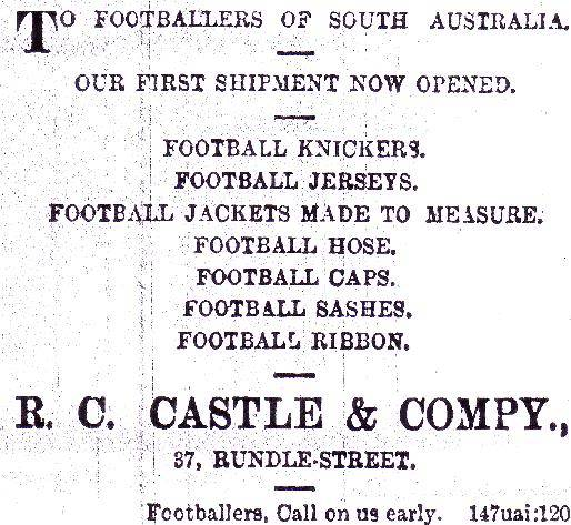 SA Football the early years 1843-1899 - Page 4 RCCastleandCompany