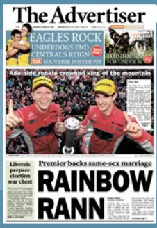 Front page of the Ragvertiser the day after... Advertiserfrontpage-2