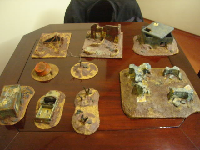 Balangaz Terrain pieces R4TJY02