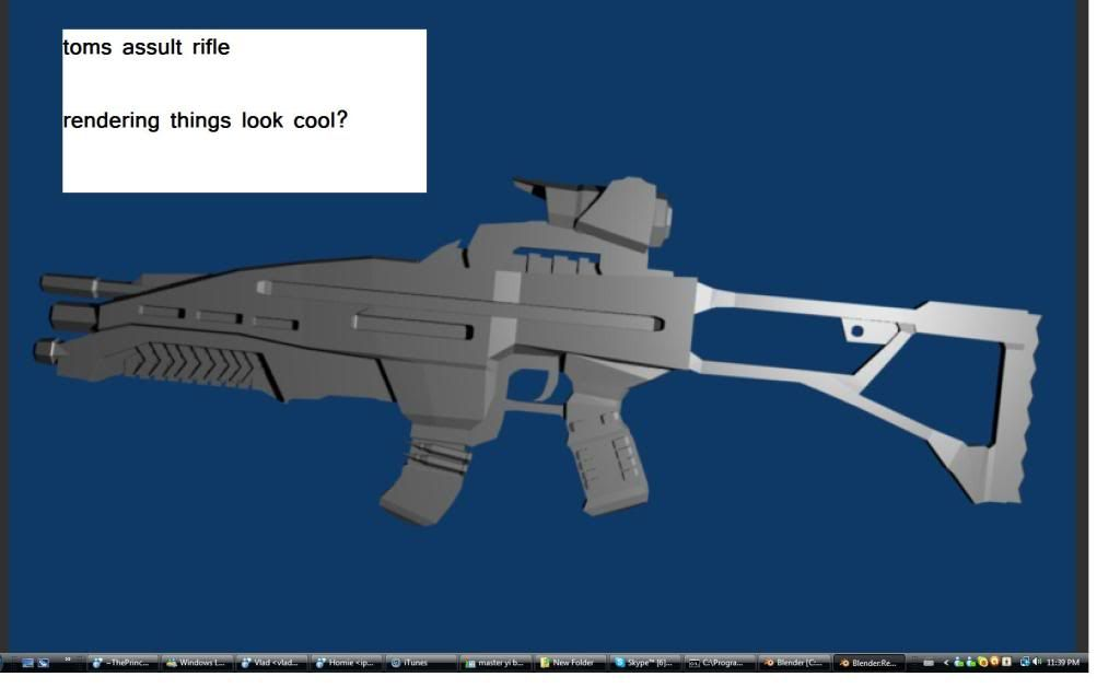 Assult Rifle Assultriferenderd