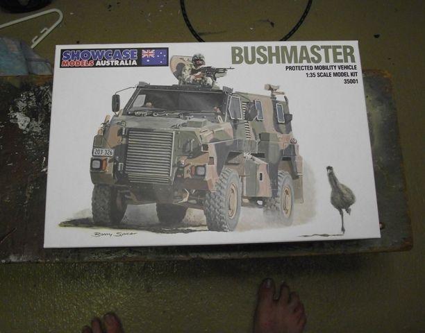 Showcase Models Australia Bushmaster PMV Bushman042