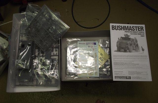 Showcase Models Australia Bushmaster PMV Bushman043