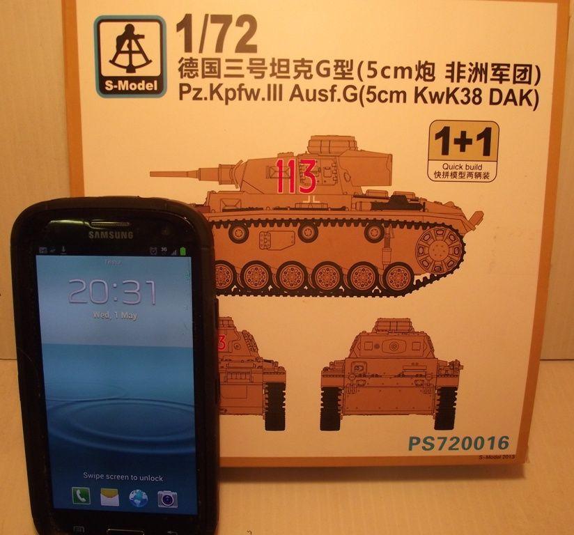 Panzer III DAK x 2 DAKPanzerIII001
