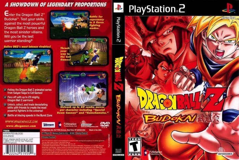 DragonBall Z: Budokai [NTSC-U] DragonBallZ-BudokaiCover
