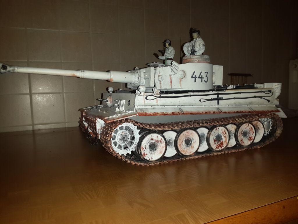 trasformato tiger early grigio in tiger 443 divisione totenkopf polonia 1943 20160726_220557_zps9lyl51gc