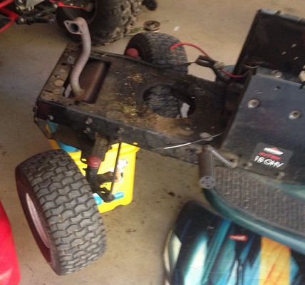"""'03 LT1000 Trail Tractor """"Project Hopeless"""" Nomotor"""