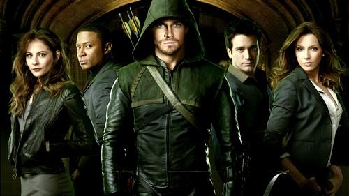 [série TV] DC - Arrow (Green Arrow) Arrowwallpaper