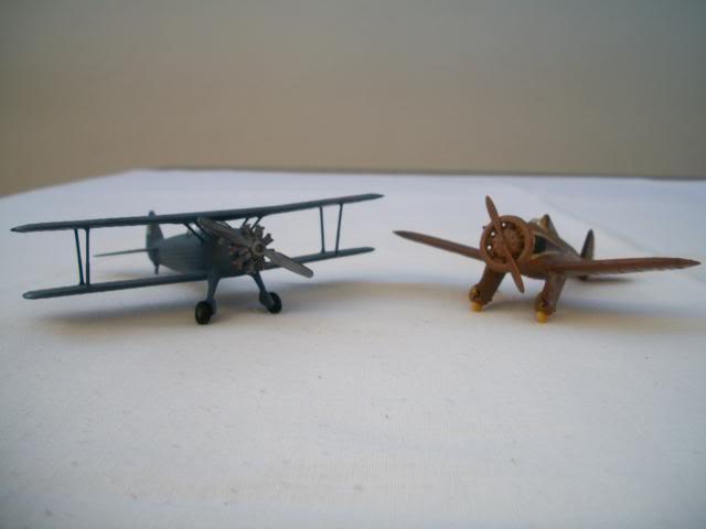 Boeing P-26 Peashooter e Boeing Stearman 100_2756