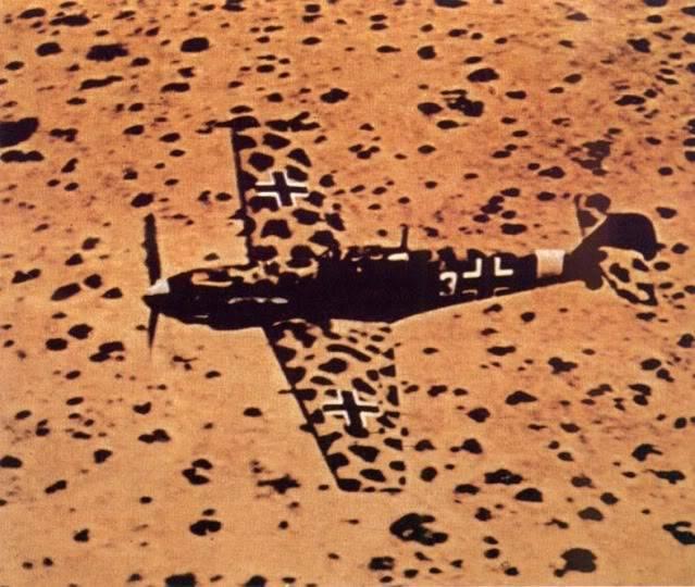 Camuflagem Bf109e4