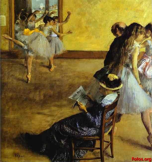 <<<<En puntas y a volar>>>> - Página 3 Edgar-Degas-Ballet-Class