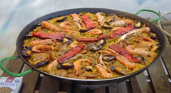 UNA RECETA UN POEMA: paella _paella