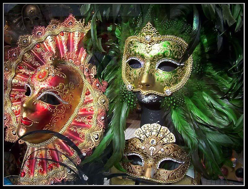 Carnaval pagano - Sonetillo - Mascaras