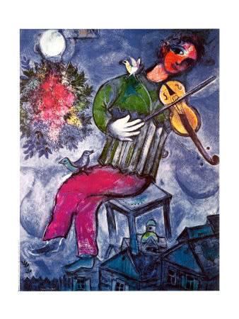 TODOS: UNA OBRA DE ARTE, UN POEMA  El-violinista-azulMarkchagall