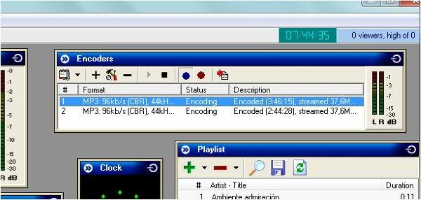 EMISORA DE RADIO PARA EMITIR DESDE TU WEB Y PONER UN CHAT  Sam5