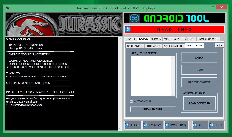 jurassic uniandroid setup 5.0.3.exe