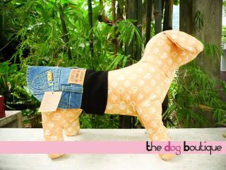 The Dog Boutique: Pet Clothes & Pet Jewels for Sale Denim-Skirt-3