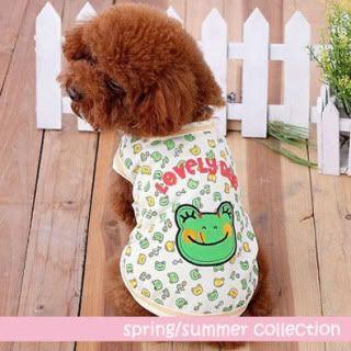 The Dog Boutique: Pet Clothes & Pet Jewels for Sale Frog-T-Shirt