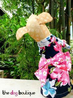 The Dog Boutique: Pet Clothes & Pet Jewels for Sale Kimono-S-1