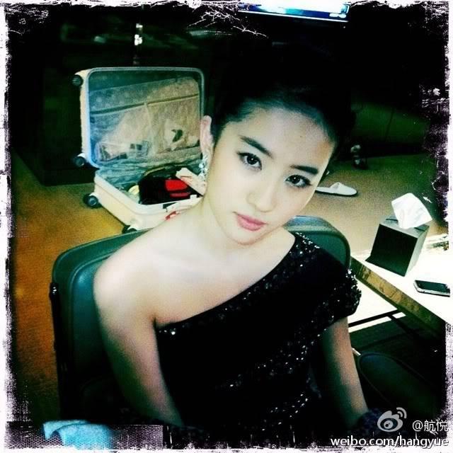 รวมภาพถ่ายจาก Blog และ Sina weibo Hang Yue  4a6856e2jw1dn4svyoww7j
