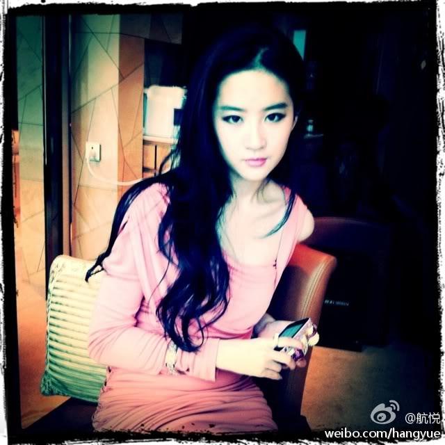 รวมภาพถ่ายจาก Blog และ Sina weibo Hang Yue  4a6856e2jw1dlpjnn7ywxj