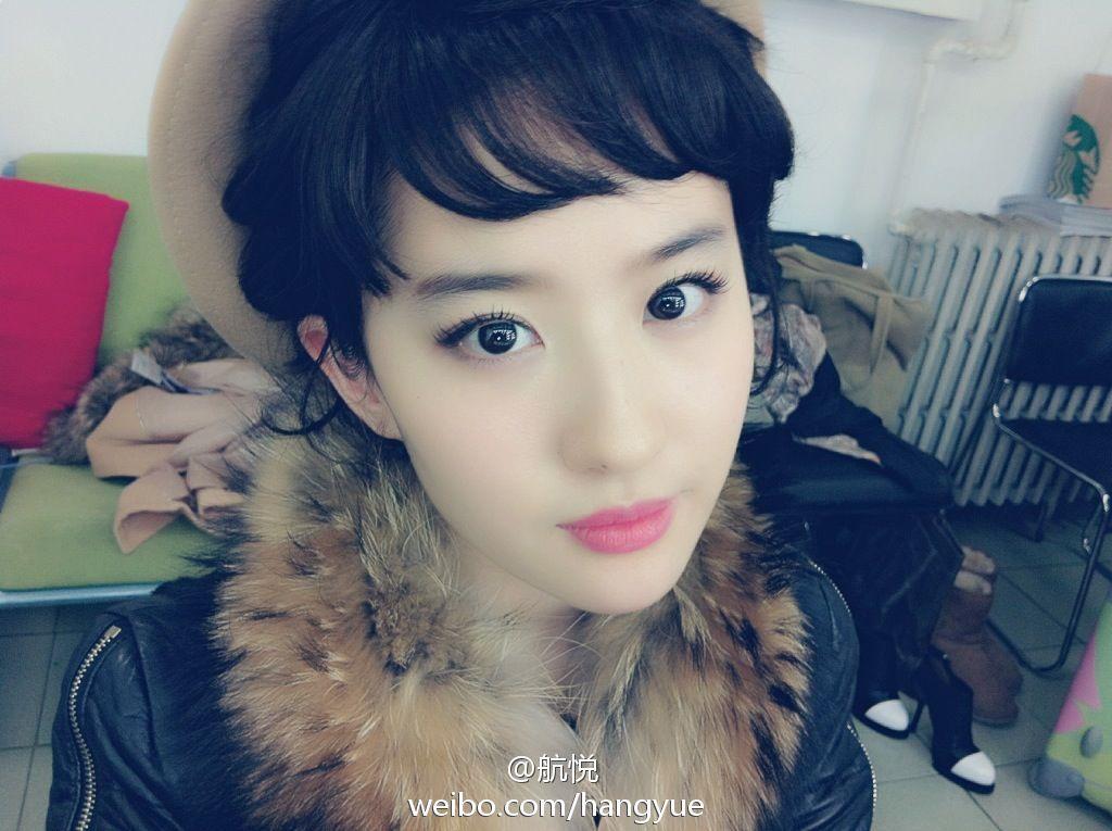 รวมภาพถ่ายจาก Blog และ Sina weibo Hang Yue  4a6856e2jw1ds7cqk5j2xj