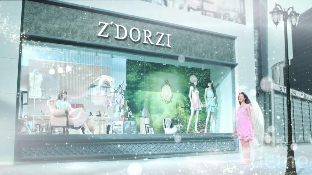 ถ่ายโฆษณา Z'DORZI_卓多姿 2012 10