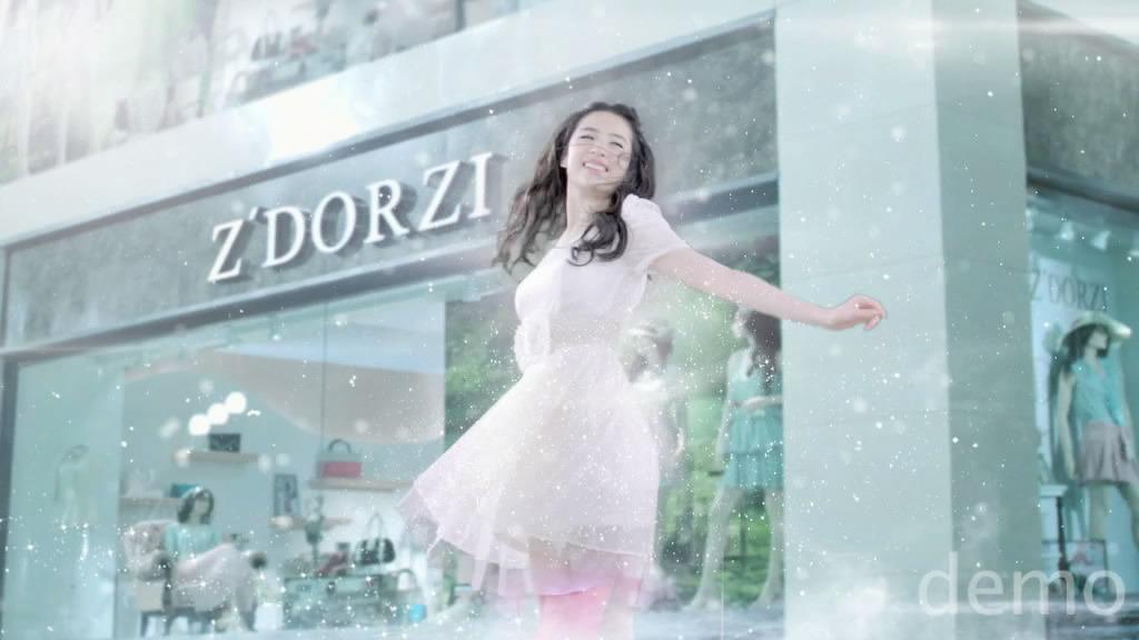 ถ่ายโฆษณา Z'DORZI_卓多姿 2012 15