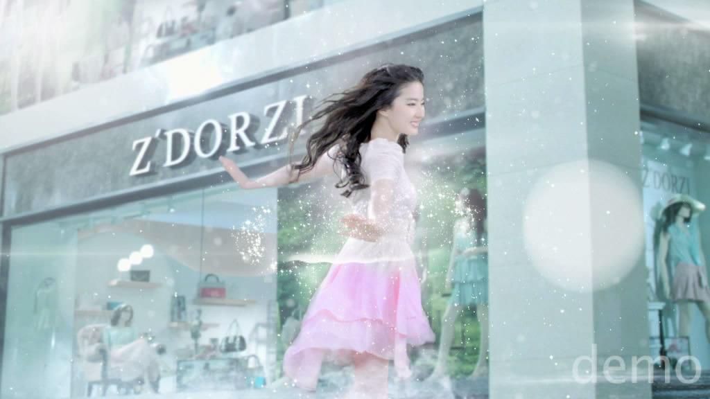 ถ่ายโฆษณา Z'DORZI_卓多姿 2012 18