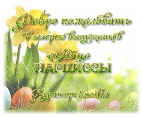 Галерея выпускников яйцо Нарциссы _affd3c6fe9808e3817b23cd032cf0795
