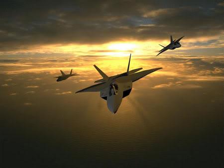 صور طائرات  F22_formation