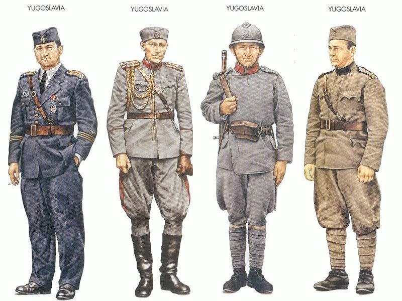 Os Exércitos de El Rei Uniformes_52