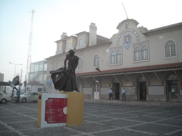 Vila Franca de Xira - Entroncamento com os Metralhas DSCN4482