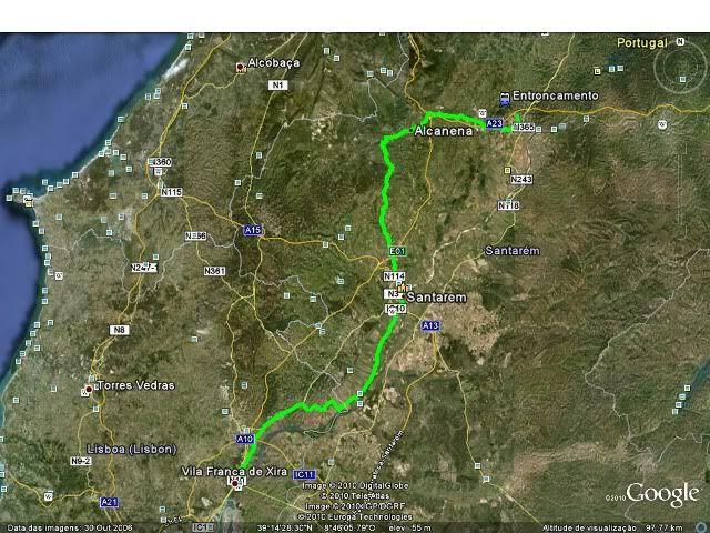 Vila Franca de Xira - Entroncamento com os Metralhas Imagem_google_V_franca_Entroncamento