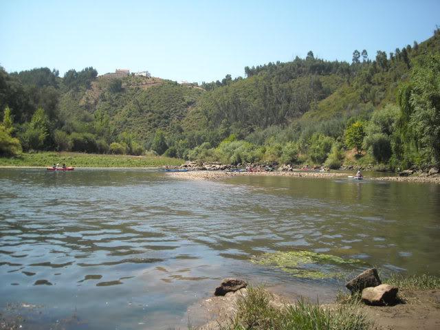 Barragem Castelo de Bode - 23/07/2011 - Em busca do Crocodilo que virou peixe gato DSCN5436