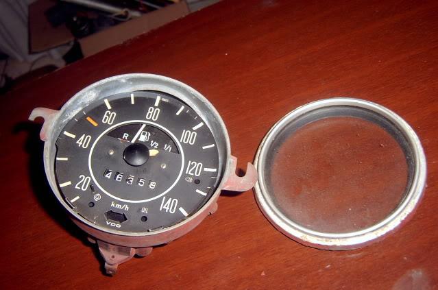 Como poner el velocímetro en ceros  SV400355