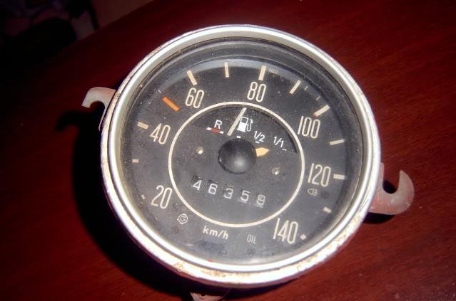 Como poner el velocímetro en ceros  SV400356