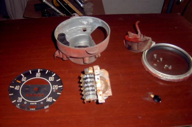 Como poner el velocímetro en ceros  SV400361